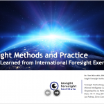Foresight Methods and Practice: Lessons Learned from International Foresight Exercises