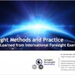 Métodos y Prácticas de Prospectiva: Lecciones Aprendidas de los Ejercicios de Prospectiva Internacional