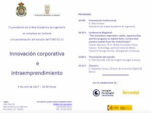Evento sobre la Innovación Corporativa en España